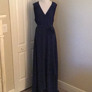 Misses/ladies Halston sleeveless maxi dress
